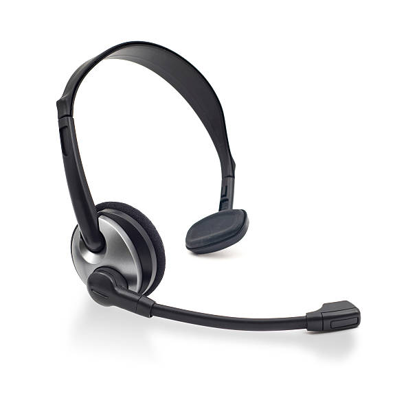 Headset stock photo