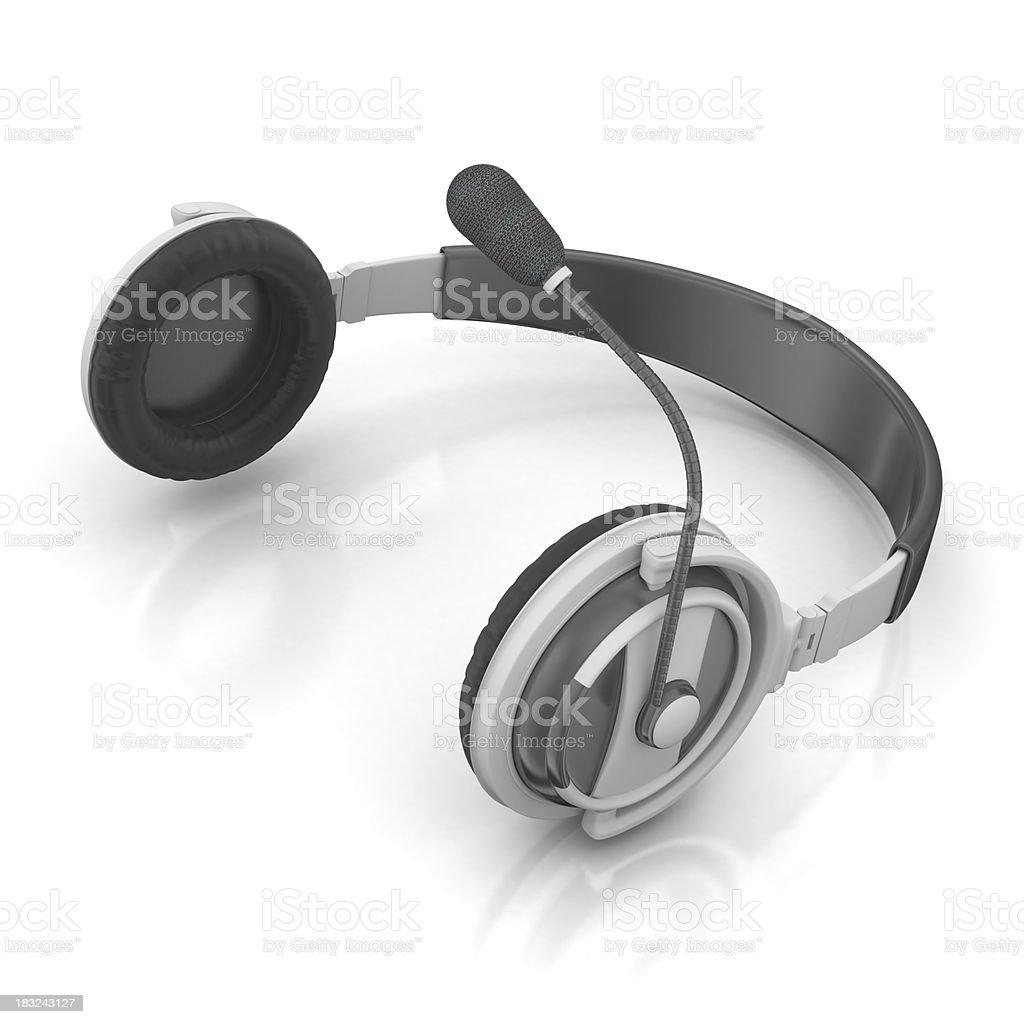 Headset royalty-free stock photo
