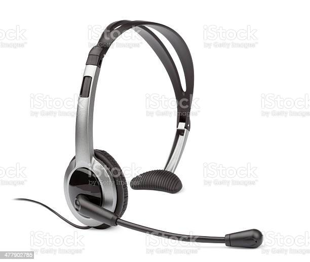 Headset Stock Photo - Download Image Now