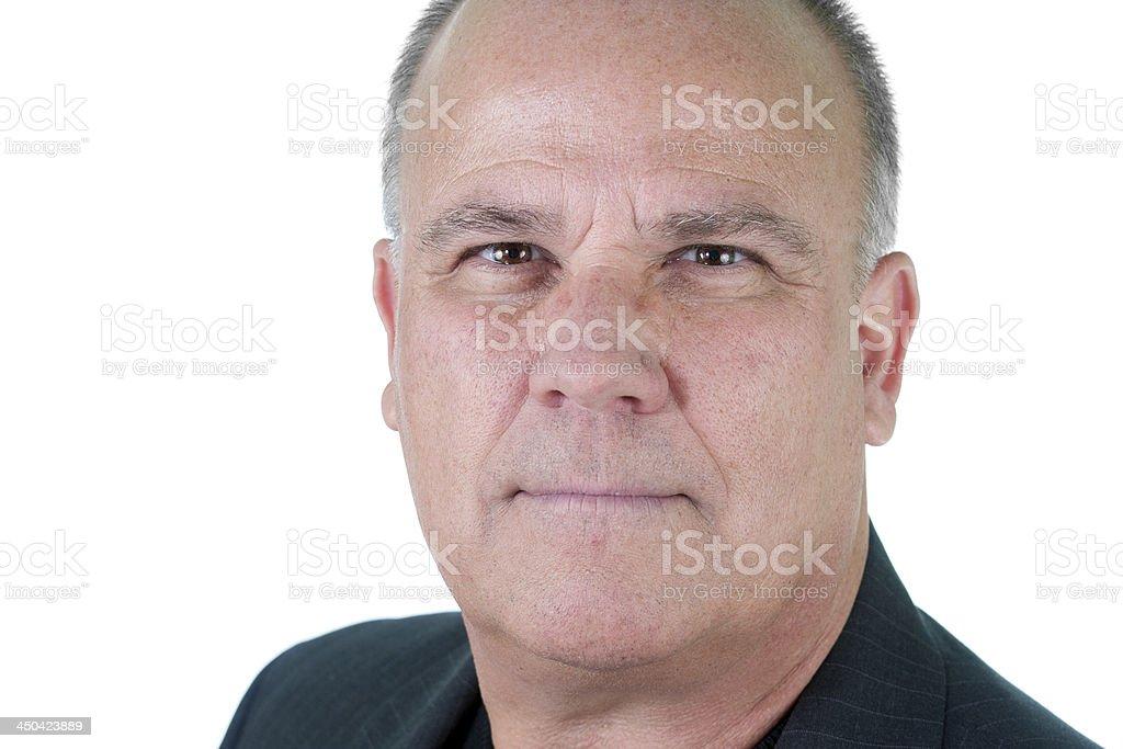 Foto de hombre senior hombre emocional - foto de stock