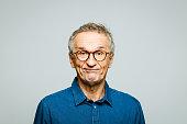 istock Headshot of worried senior man 1250271504