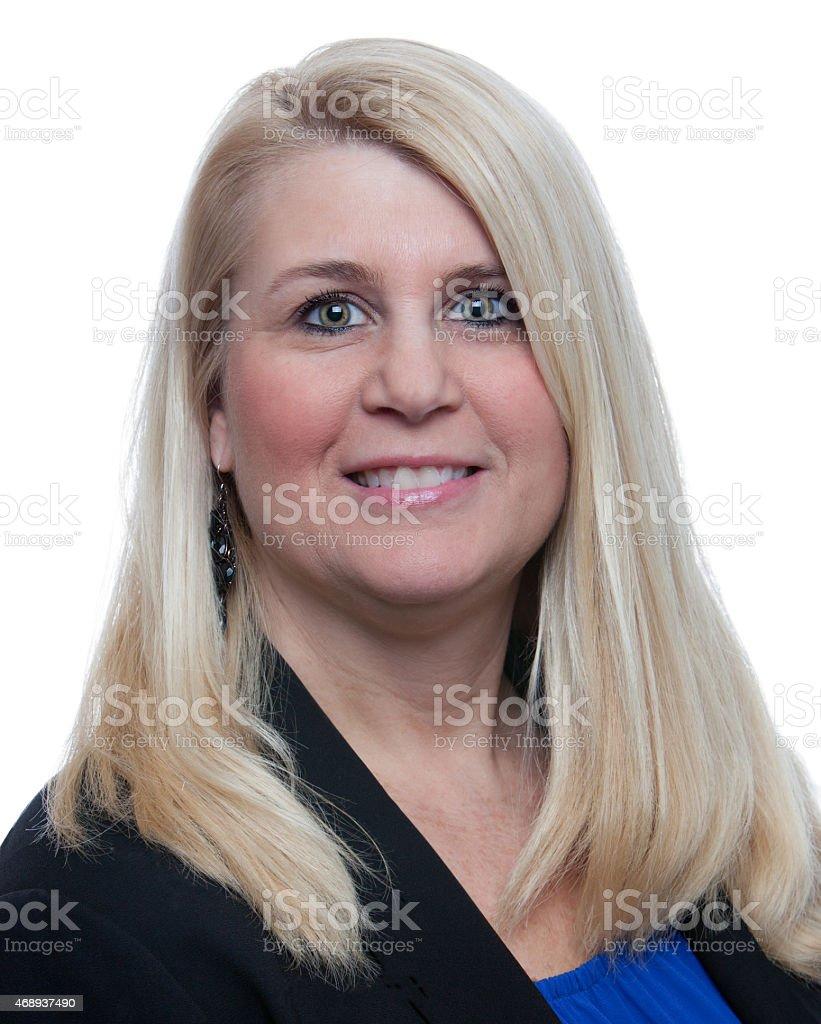 Headshot stock photo