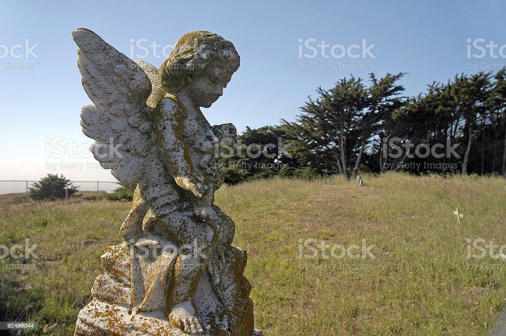 Headstone 2 royalty-free stock photo