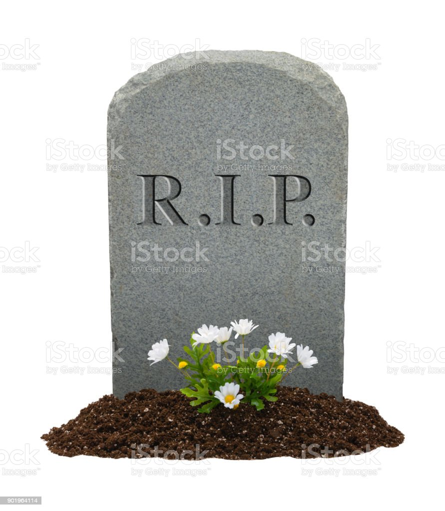 Rip Headstone Stock Photo - Download Image Now - iStock