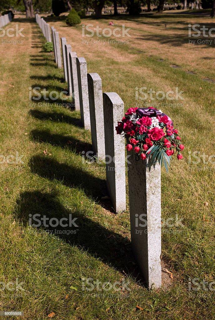 Headstones zbiór zdjęć royalty-free