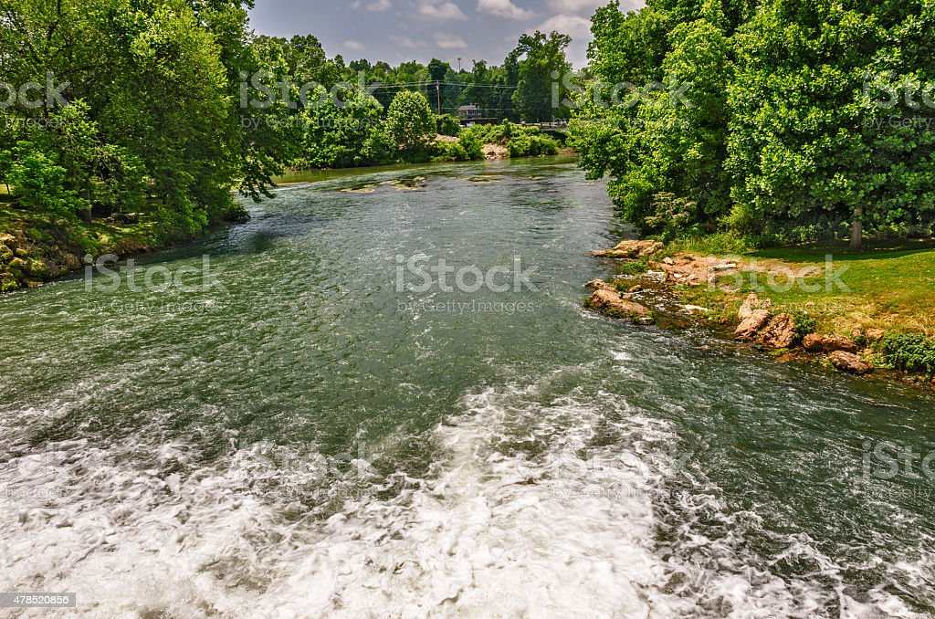 Headwater of the Spring River stock photo