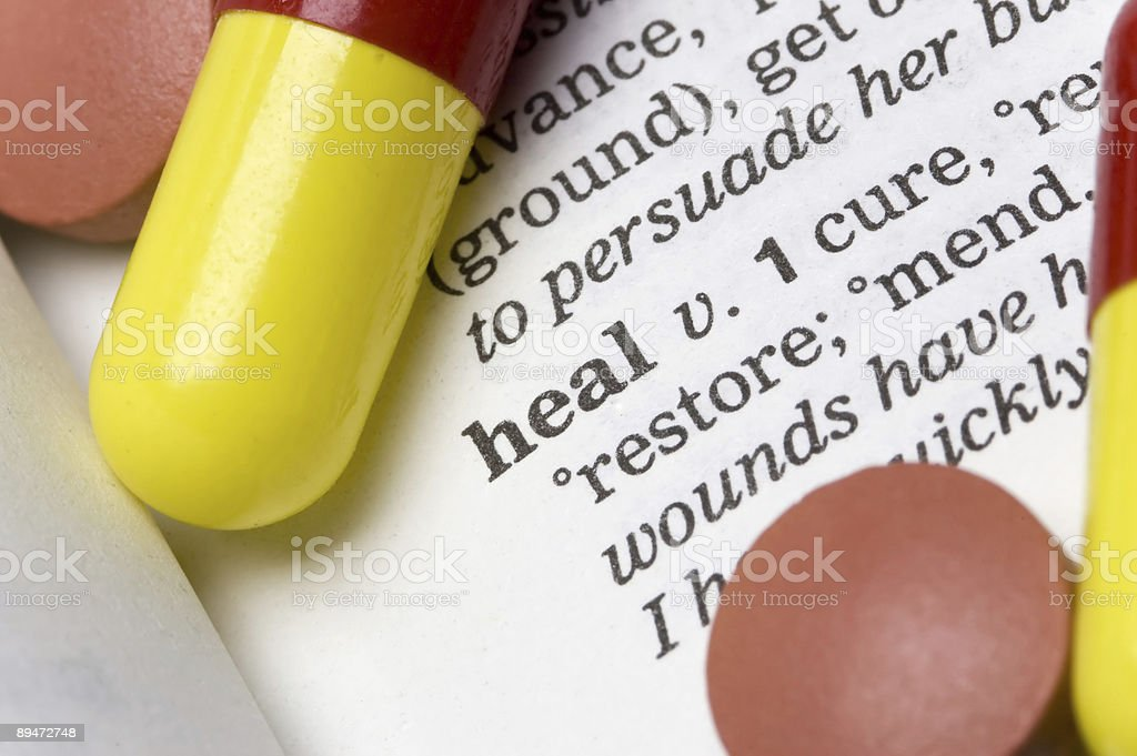 Heal royalty-free stock photo