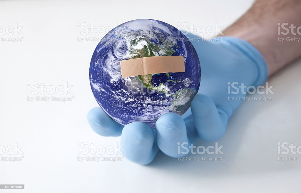 Heal the World royalty-free stock photo