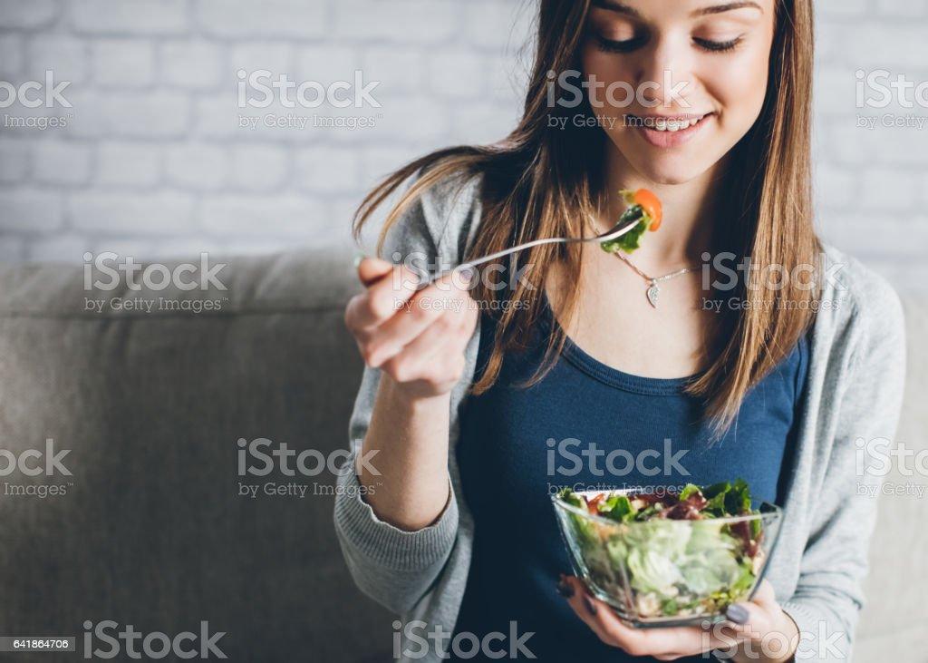 Healhty salad... stock photo