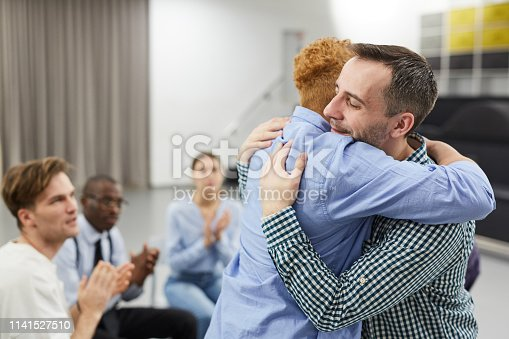 istock Healing in Support Group 1141527510