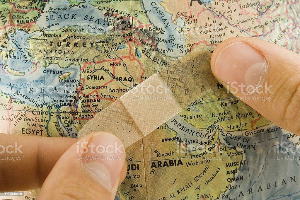 Cicatrización el Golfo Pérsico - foto de stock