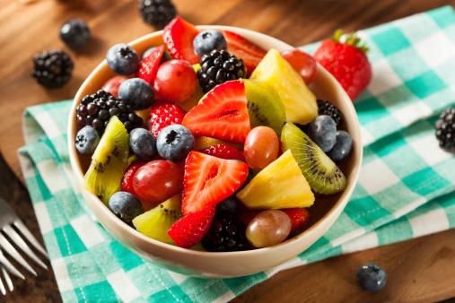 Heallthy Organic Fruit Salad