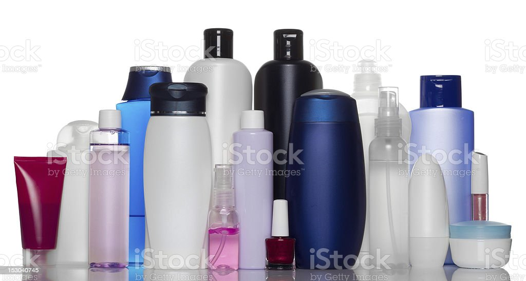 health and beauty products royalty-free stock photo