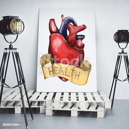 istock Health and cardiology concept 895805864