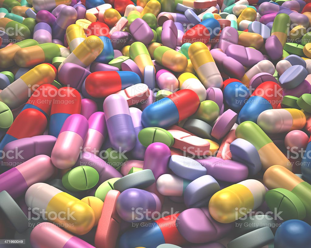 Health And Drugs royalty-free stock photo