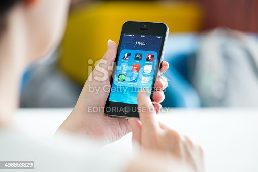 istock Health and fitness apps on smartphone 496853329