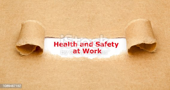 istock Health And Safety At Work Concept 1089467152