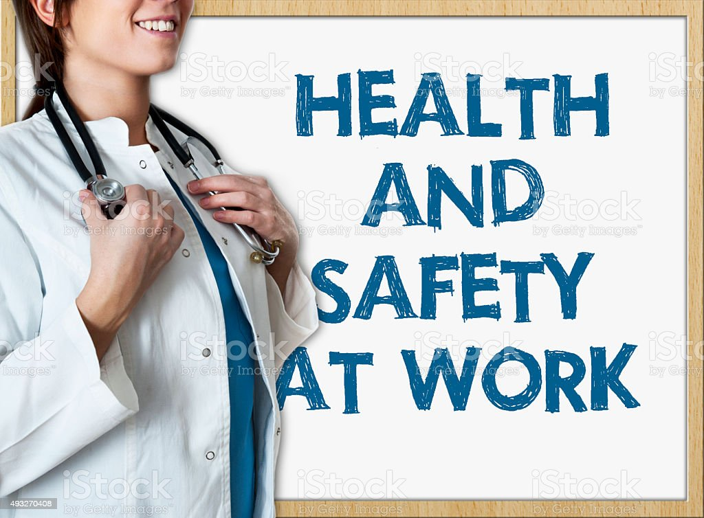 Health and safety at work / Healthcare concept