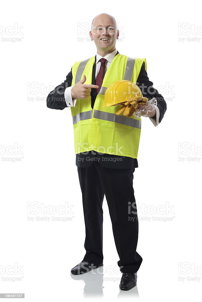 health and safety man royalty-free stock photo