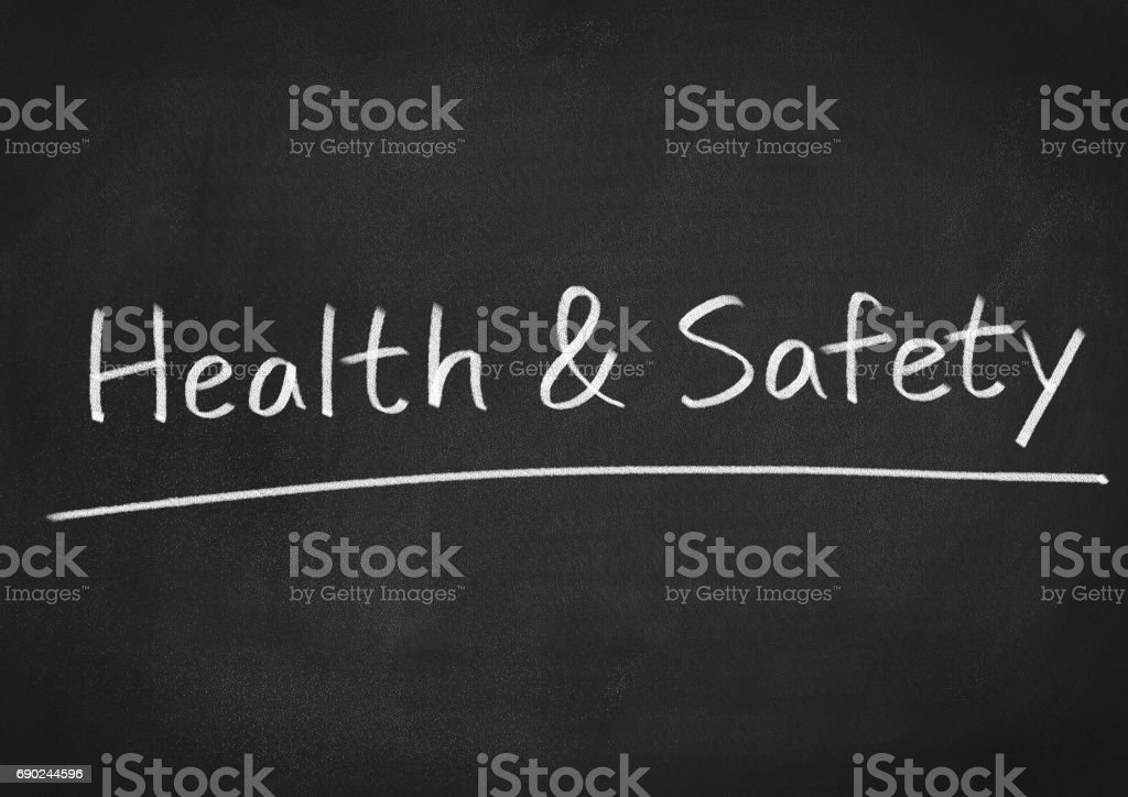 health and safety stock photo