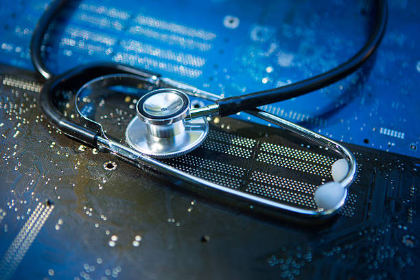 Health and Technology stock photo