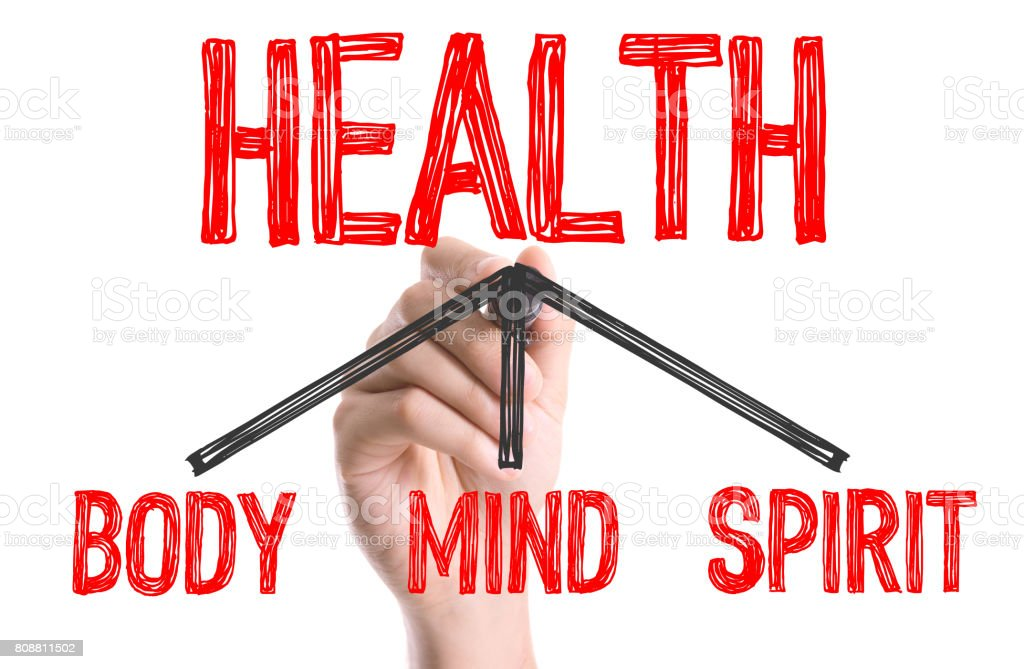 Health - Body, Mind, Spirit stock photo