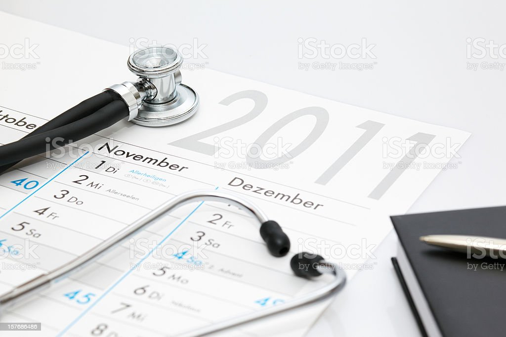 Health care 2011 royalty-free stock photo