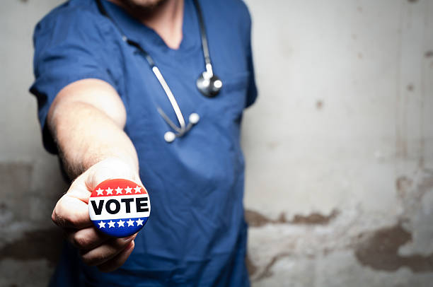 health care vote - kellyjhall stock pictures, royalty-free photos & images