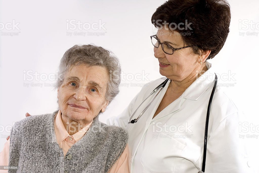 Health care workers royalty-free stock photo