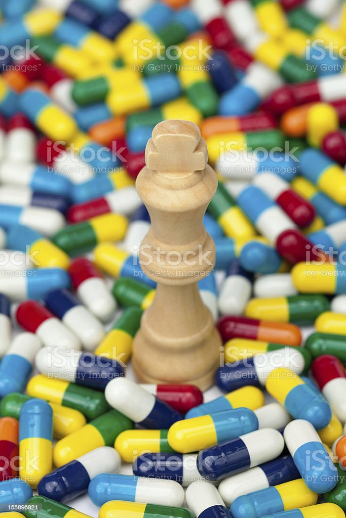 Health Checkmate royalty-free stock photo