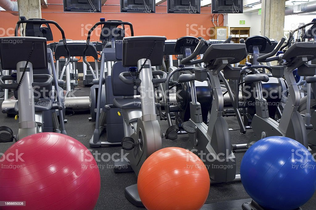 Health Club Interior stock photo