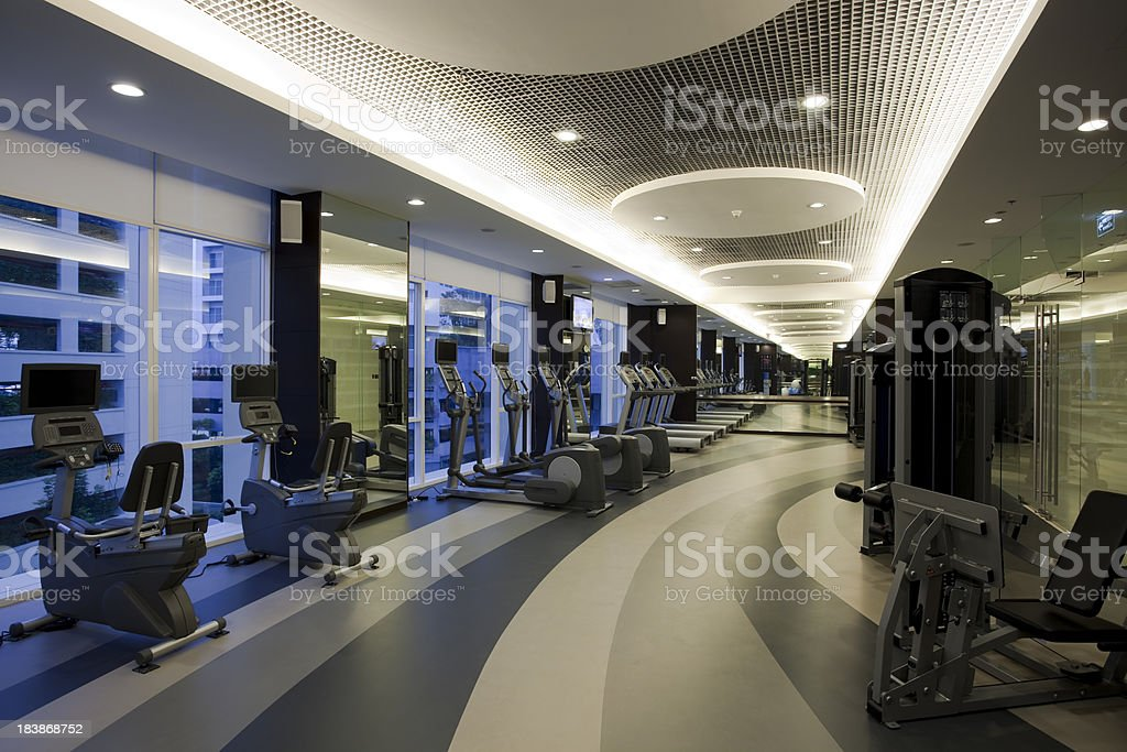 health club stock photo
