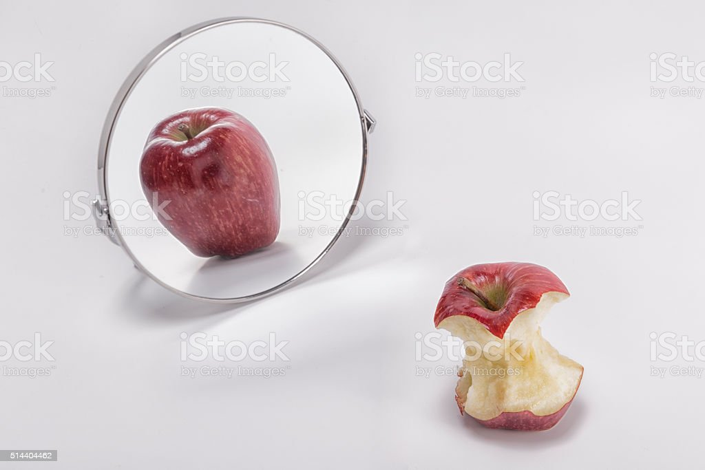 Health concept people suffer from eating disorders stock photo