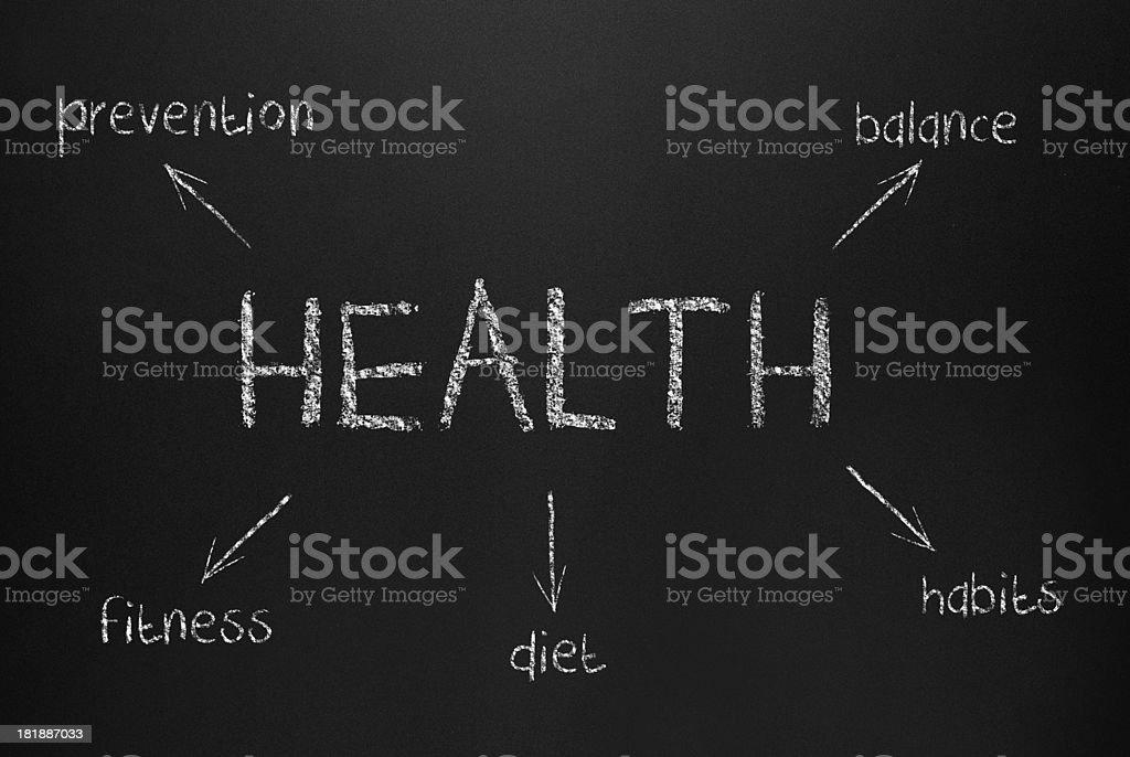 Health Concept (Click for more) royalty-free stock photo