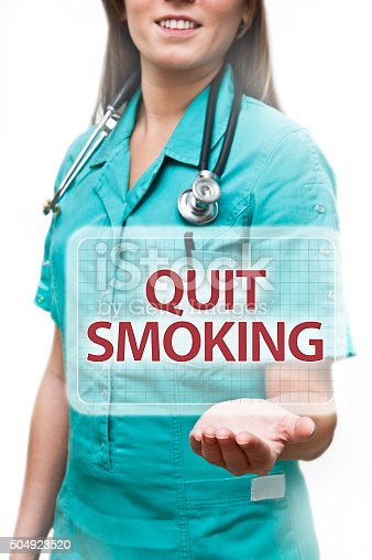 QUIT SMOKING / Health concept (Click for more)