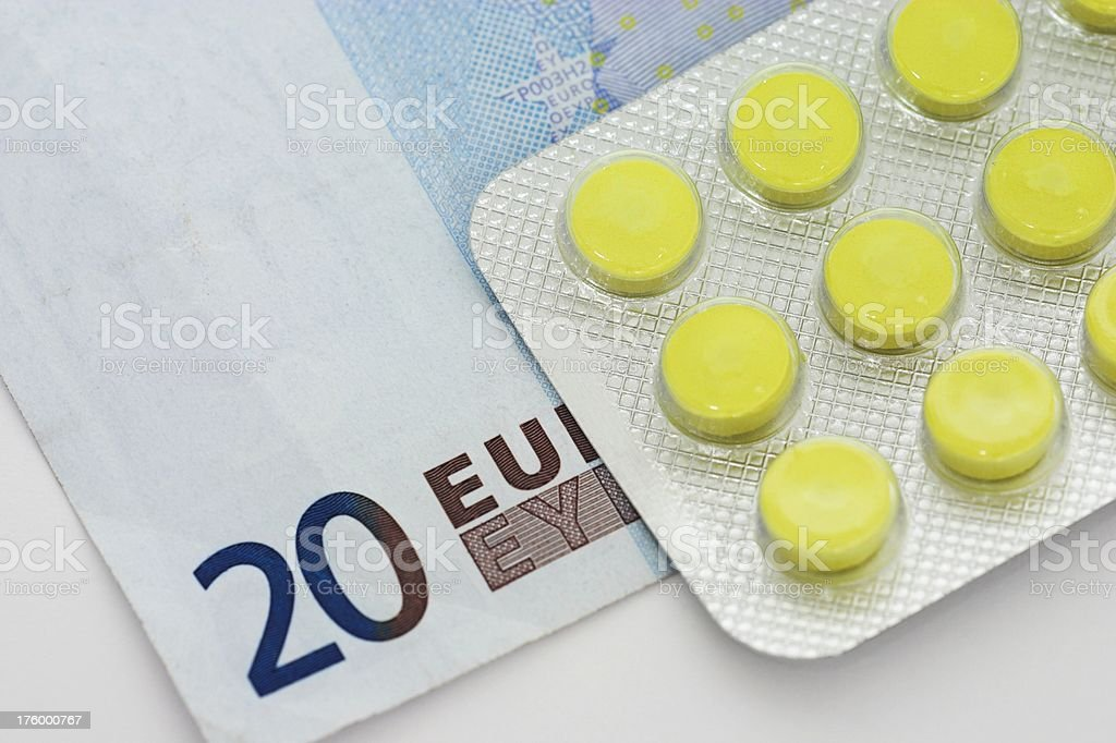 Health costs 1 stock photo
