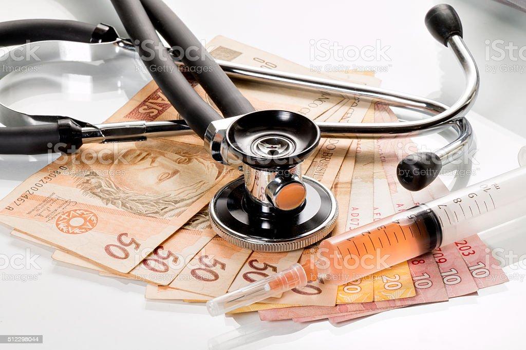 Health costs stock photo