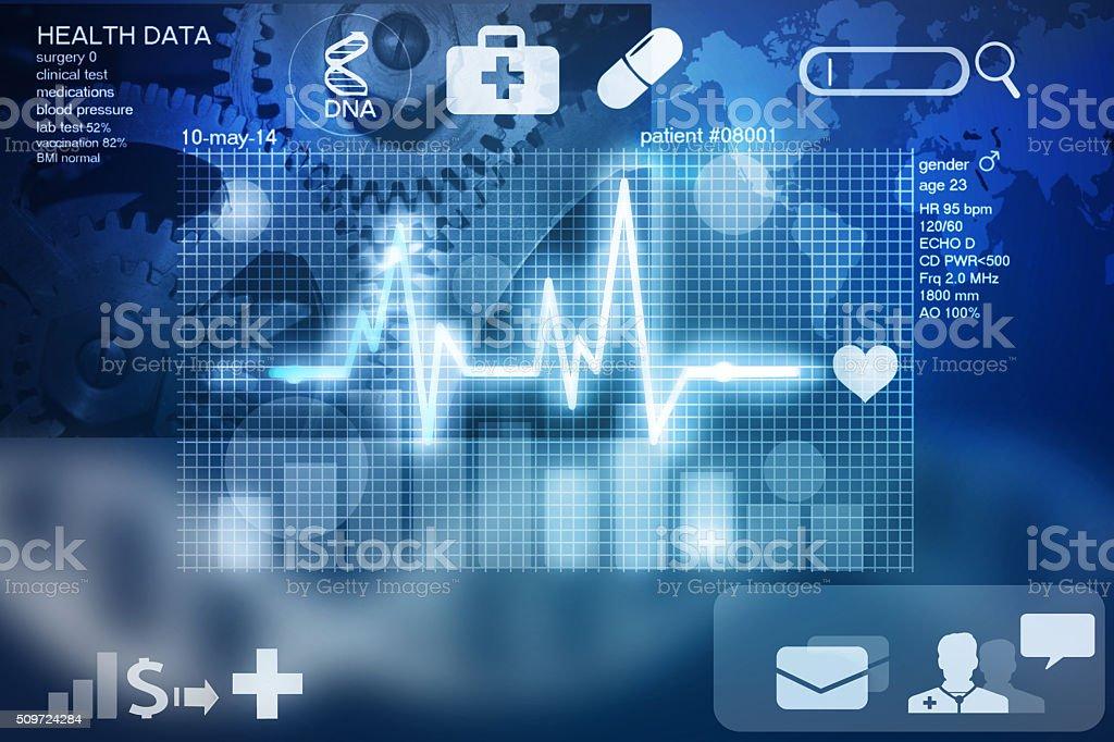 health data stock photo