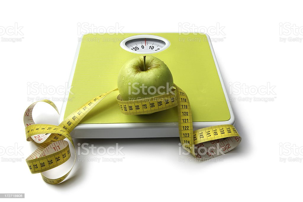 Health: Diet Concept royalty-free stock photo