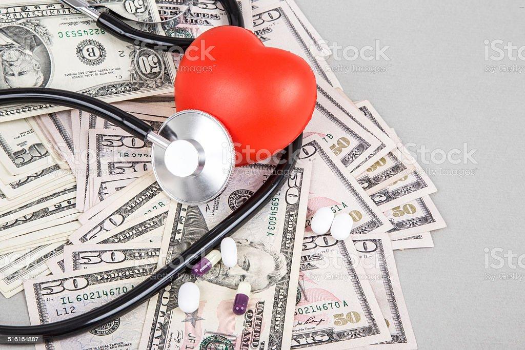 health expenses stock photo