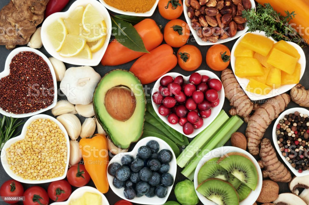Health Food for Fitness stock photo