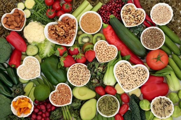 Health Food for Vegans stock photo