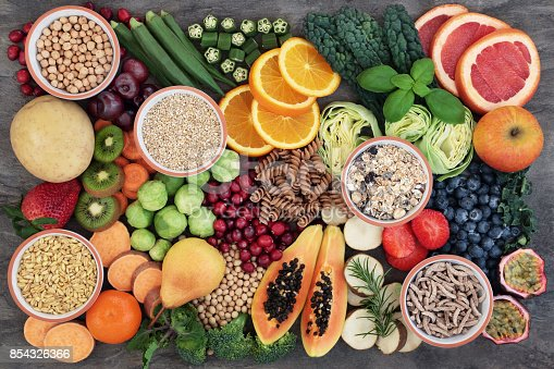 istock Health Food with High Fiber Content 854326366