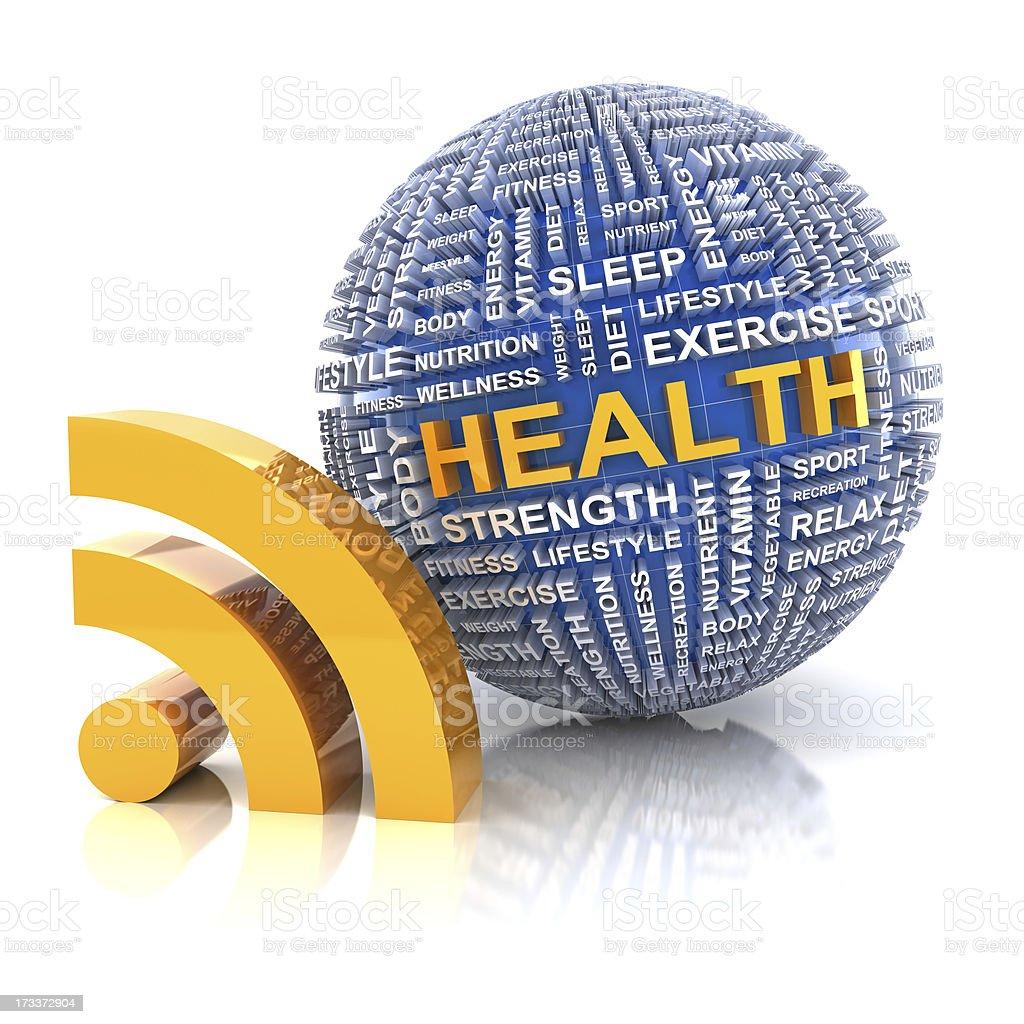Health information royalty-free stock photo