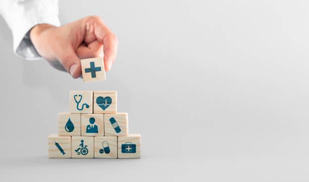 Krankenversicherung - Konzept. – Foto
