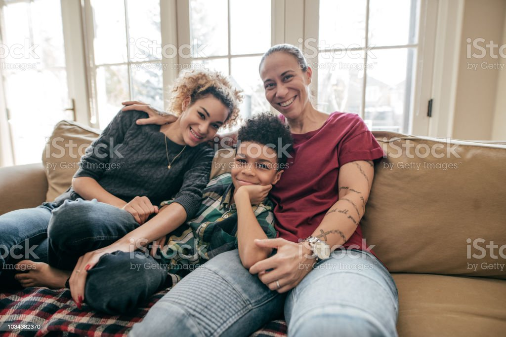 Health insurance for the family stock photo