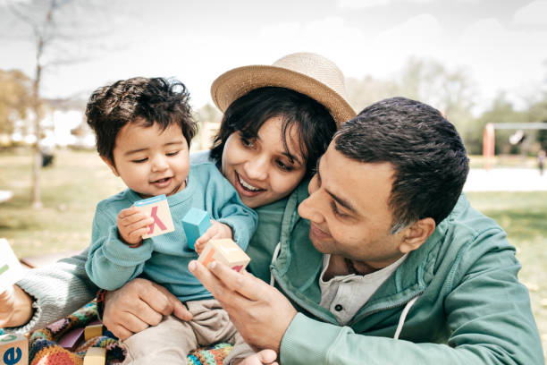 Health insurance for your family stock photo