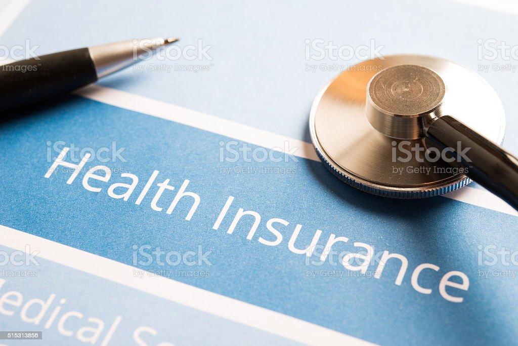 Seguro de salud - foto de stock