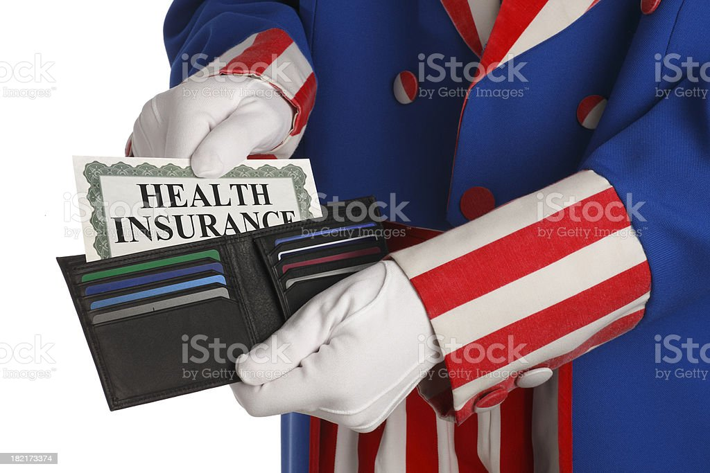 Health Insurance Reform A symbolic look at the U.S. government's health insurance reform plans. Abundance Stock Photo