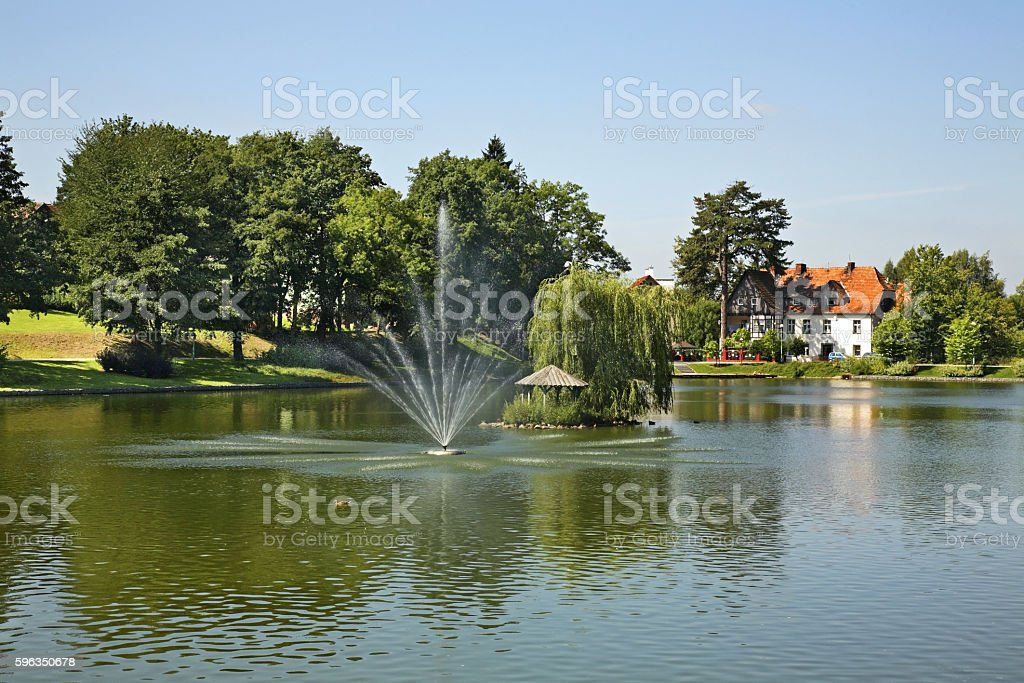 Health Park in Kudowa-Zdroj. Poland royalty-free stock photo